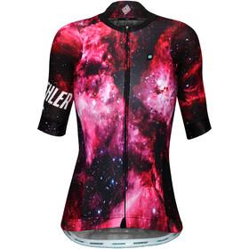 Biehler Pro Team Maglietta da ciclismo Donna, kosmonaut